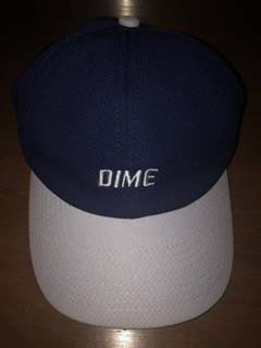 9be109661 Dime Dime MTL Navy/White Logo Baseball Hat