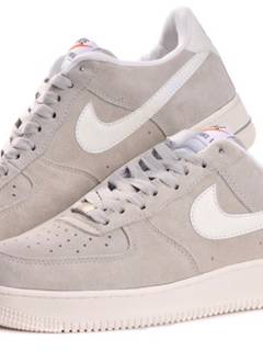 the best attitude 1cd5a bdf45 Nike Nike Air Force 1 Low Grey Suede