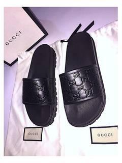 8fbde80278b Gucci Rare Gucci Monogram Slides