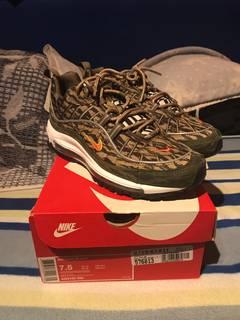 01087b280f Nike Air Max 98 AOP 'Camo'