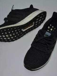 5fc00ab36b6 Adidas Adidas Ultra Boost 3.0 Black White Graphite Shoes kicks sneakers  streetwear fashion hype 3
