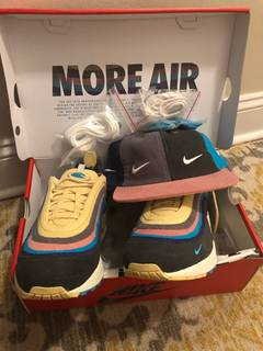 12425e7b6882a Nike Nike Sean wotherspoon 1/97 airmax & matching hat