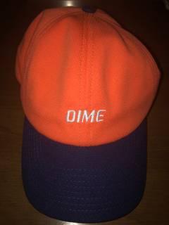 17c5f1ce3 Dime Dime MTL Orange/Navy Logo Baseball Hat