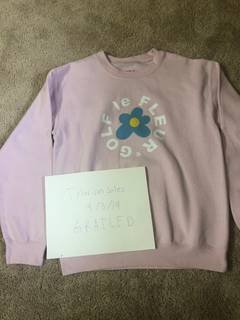 77030247864b Golf Wang Unreleased Golf le Fleur Pink Crewneck.