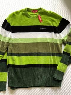 09d73ca0 Supreme Fw18 Black Chenille Sweater | Grailed