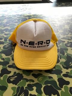 8f1747f5ff8ce Bape × Billionaire Boys Club OG N.E.R.D x Bape Trucker Hat