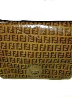 84e9f56bc2 Fendi × Vintage Vintage Fendi Shoulder Bag Monogram Zucca