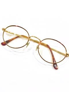 bfffe88ce076f Gucci RARE Gucci Gold Round Tortoise Frames Vintage 90s Eyeglasses