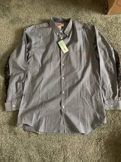 b0c4d562a7c0 Supreme Supreme Comme Des Garcons Shirt Patchwork Button Up Shirt ...