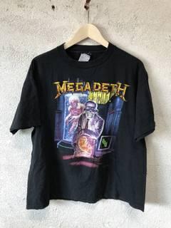 c0694f781 Band Tees × Megadeth × Vintage Vintage Megadeth Band Tee