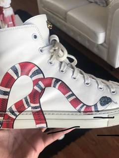 fe6aef916d3 Gucci Gucci Snake High Top Sneakers
