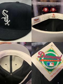 610821d1cd2575 New Era × Vintage Vtg 80s New Era Chicago White Sox Fitted 7 5/8