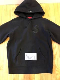 2fa5d4d70 Supreme Supreme Black Tonal S Logo Hoodie   Grailed