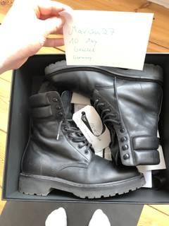78d797c969c Saint Laurent Paris Saint Laurent Black Combat Boot