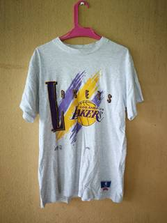 c4ecb7c47 Lakers × Nutmeg Mills Vintage NBA Los Angeles Lakers by Nutmeg Mills Tshirt  Made in USA