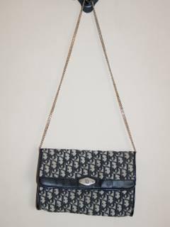 e42b97ee7052 Dior × Vintage 80's DIOR vintage Monogram muff bag Made In France