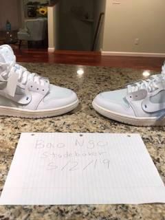 5505acb19b2c0 Nike × Off-White Nike Air Jordan 1 x Off-White NRG