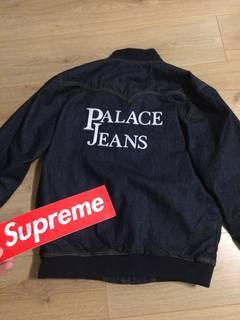 471d67e5c Palace Palace Jeans Stone Wash Bomber - Black | Grailed