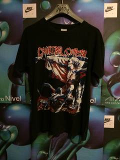 """d27129c05 Band T Shirt × Band Tee × Vintage Cannibal corpse """"tomb to mutilated"""""""