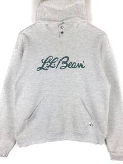 a36af6806b515 L.L. Bean × Russel Athletic L.L bean hoodie Sweatshirt Big Logo Spell Out  Embroidery grey Colour