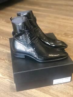 b9ae7f838 Saint Laurent Paris Botte Jodphur Wyatt 30 Noire boots