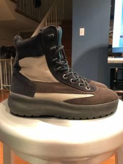 e1bf90c2 Yeezy Season YEEZY SEASON 5 suede Oil Combat Boots size 7/40