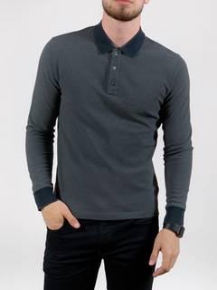 56e8dcc1 Moncler Moncler Long Sleeve Polo Shirt T-shirt logo