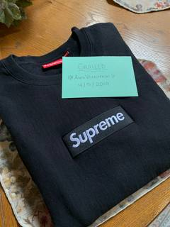 4ddde5eee3f Supreme Supreme Box Logo Crewneck Black Black