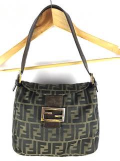 dcdd2537b394 Fendi × Vintage vintage Fendi baguette zucca monogram handbag 100%authentic