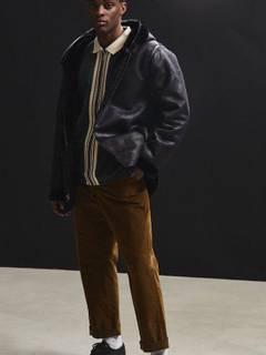08377cf2badbd Urban Outfitters Shearling Hooded Jacket