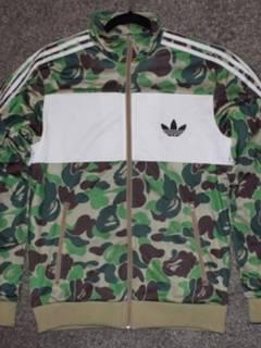 418bc3ba Adidas Bape X Adidas Abc Camo Track Jacket Black - Size L - Very ...