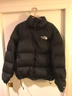 The North Face Nuptse Black The North Face XL baa1d5b02ae1