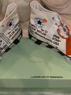 887a0733ee90 Off white converse