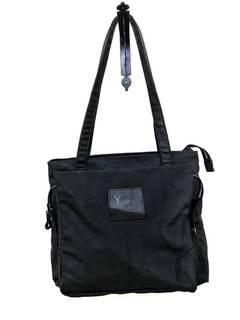 3b68e089aad6bd Yohji Yamamoto Made in Japan Pour homme Y'SACCS tote NyLon shoulder bag  full black