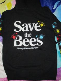 b75d943486ff Golf Wang Golf Wang Save The Bees Hoodie Black S