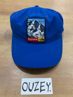 f274795b Supreme × The North Face Supreme x North Face Mountain Camp Cap Blue