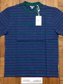 9ca2981894c1 Asap Rocky × Guess Guess A$AP Rocky Green/Purple Stripe Tee