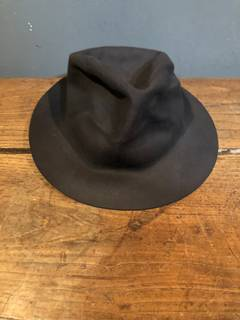 e7ebce22b56 Horisaki Horisaki Easy Burnt Hat In Grey