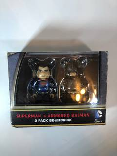 48e2cf0f Medicom Bearbrick Batman vs Superman bearbrick set