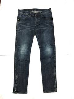 09c8b792960f Distressed Denim × Hysteric Glamour Need Gone Goday Jeans Hysteric Glamour  Skinny Leg Size 32x36