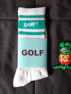 5088ae97ff76 Golf Wang Golf Wang Letters Green Stripe Socks