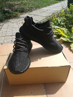0c0c39cbe483d Kanye West Adidas Yeezy Boost 350 Pirate Black