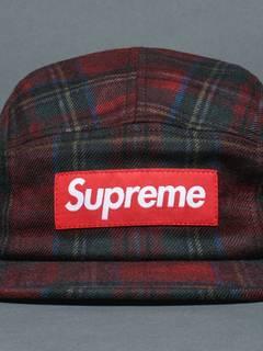c700e984a Supreme Supreme X Woolrich Shadow Plaid Camp Cap Rare | Grailed