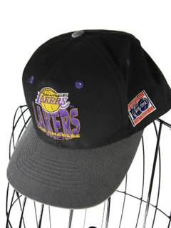 official photos 8446a 8f2ad Lakers × Vintage Vintage Los Angeles Lakers 100yr Anniversary Snapback Hat