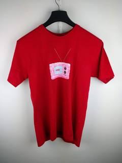 2e9d3b345d7c Supreme pink box logo tee | Grailed