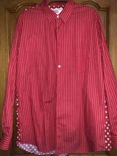 5256f2c8321a Comme des Garcons × Supreme SUPREME x COMME des GARCONS 14SS Button-Down  Shirt stripe