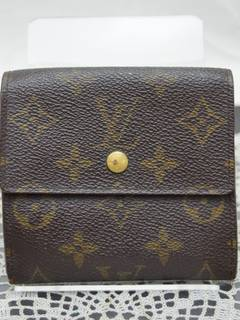 b9008c2b069 Louis Vuitton × Vintage  1 Louis Vuitton Wallet Portefeuille Elise Browns  Monogram