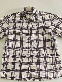 2f44131480c923 Burberry Vintage Burberry Shirt Button Ups Rare Motif small logo on the  left chest Good Condition