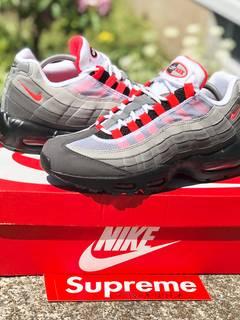 7e03daefda Nike Nike Air Max 95 OG Solar Red