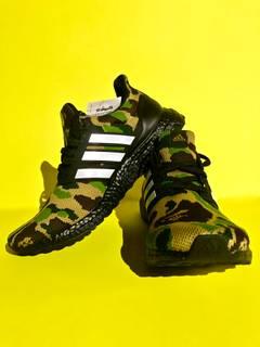 e5ccdda742461 Adidas × Bape Adidas x Bape Ultra Boost (Green Camo) US 9